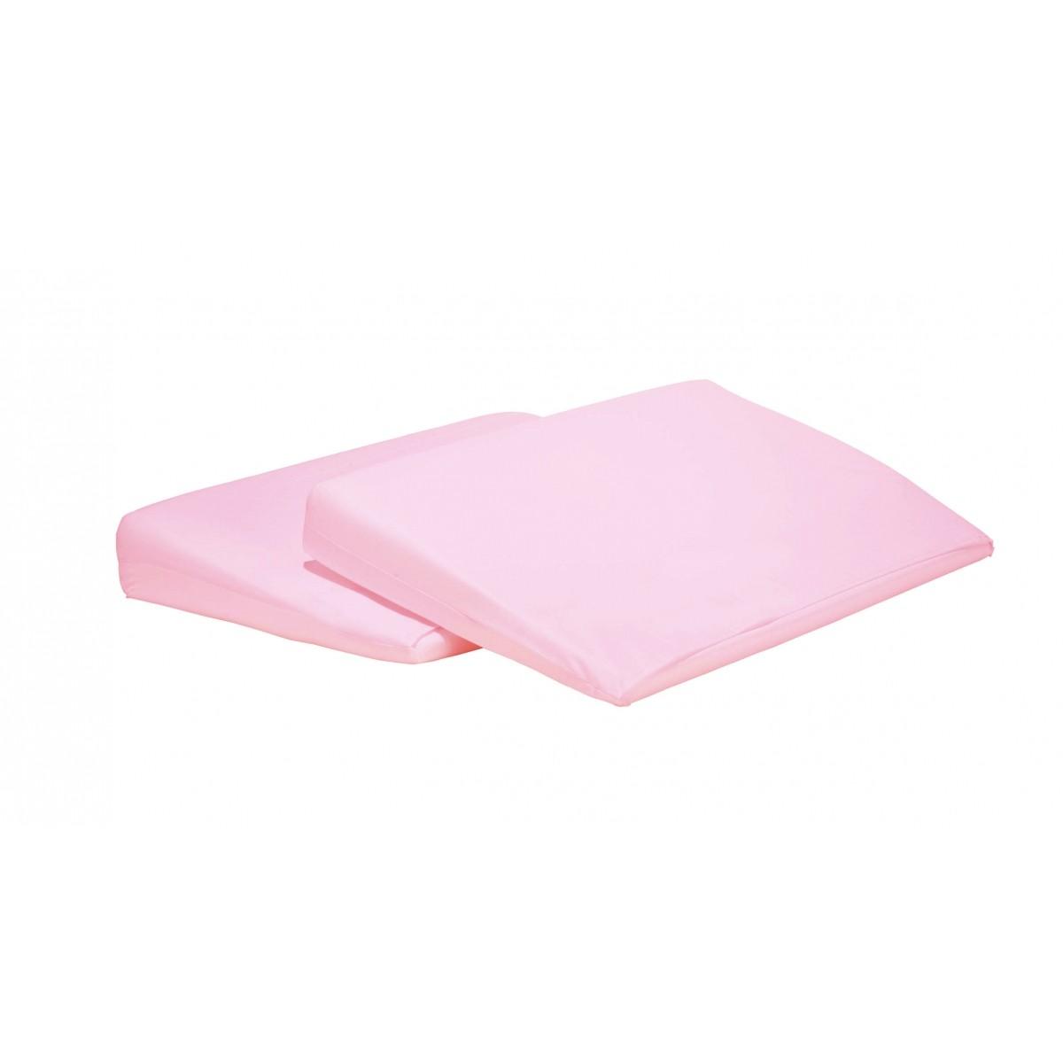 Travesseiro Rampa Anti Refluxo para Berço Rosa