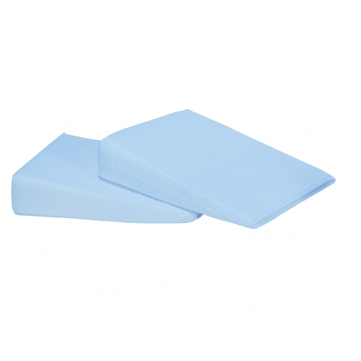 Travesseiro Rampa Anti Refluxo para Carrinho Azul