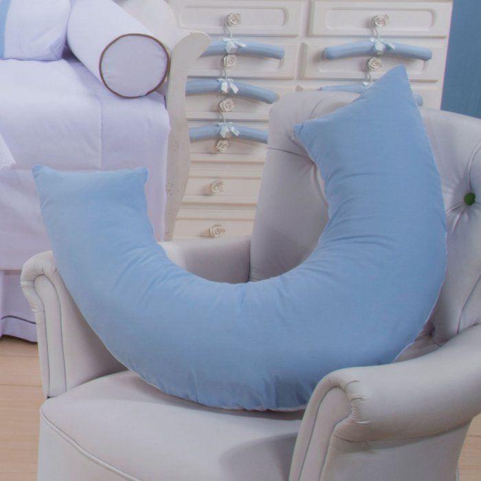 Almofada de Amamentação Azul