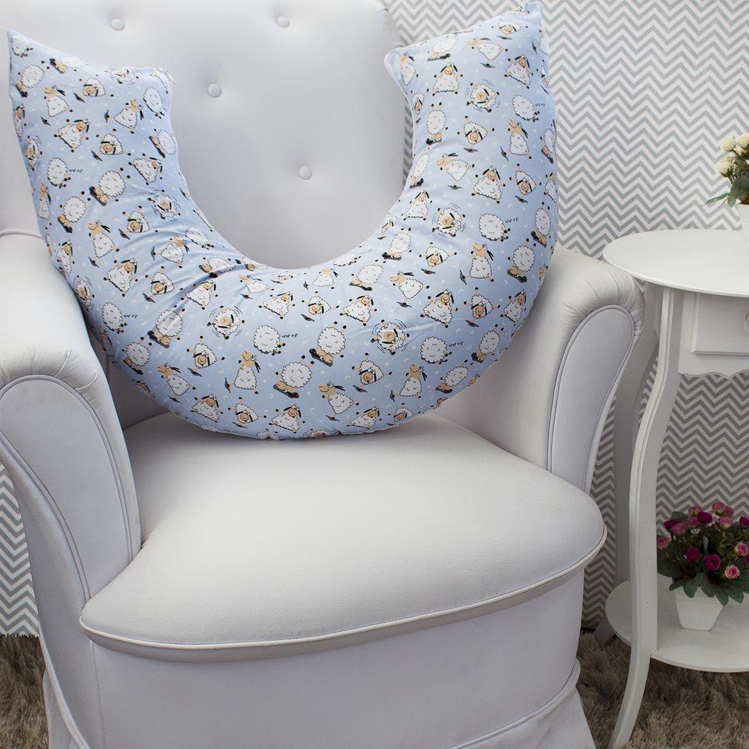 Almofada de Amamentação - Ovelha Azul