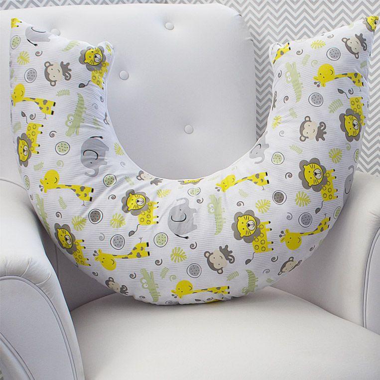 Almofada de Amamentação - Safari Amarelo