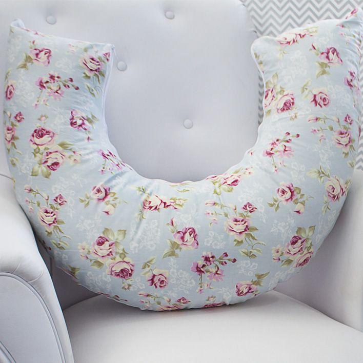Almofada de Amamentação - Ursa Realeza Floral