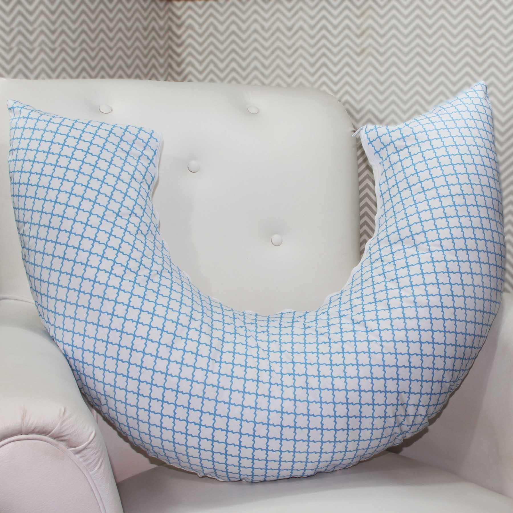 Almofada de Amamentação - Zôo Azul