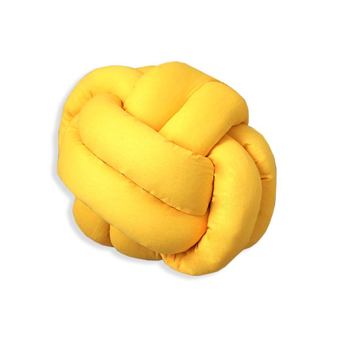 Almofada de Nó - Amarela