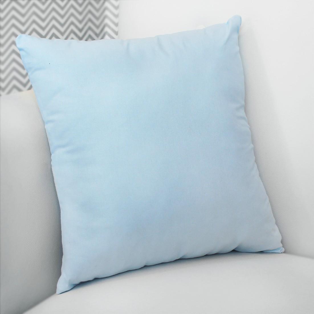 Almofada Decorativa Estampada -  Azul