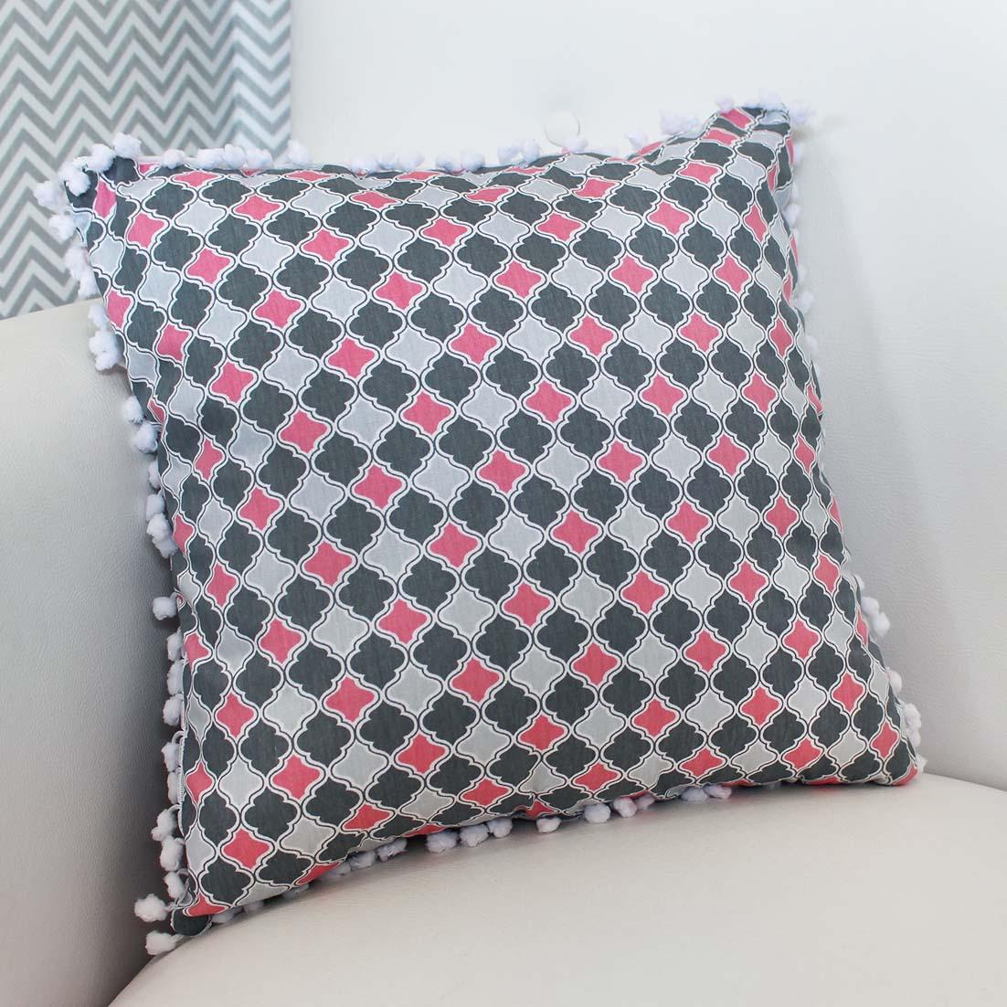 Almofada Decorativa Estampada Geometrico