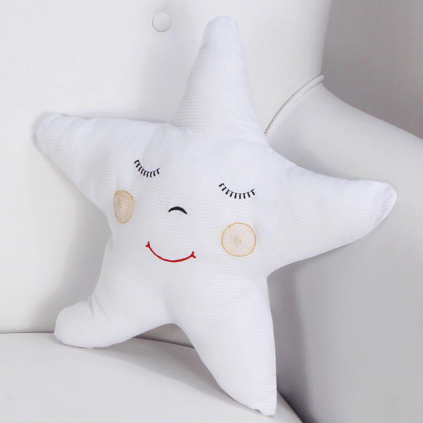 Enfeite Estrela - Branca