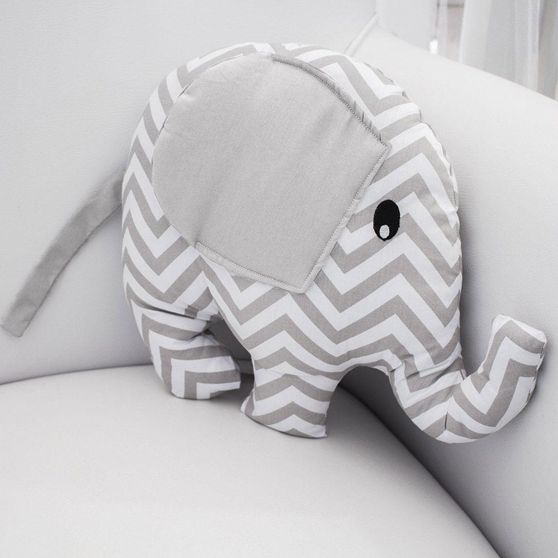 Almofada Decorativa Elefante - Chevron