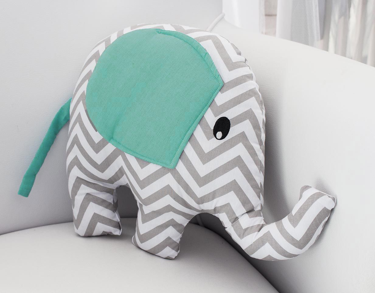 Almofada Elefante - Chevron Tiffany