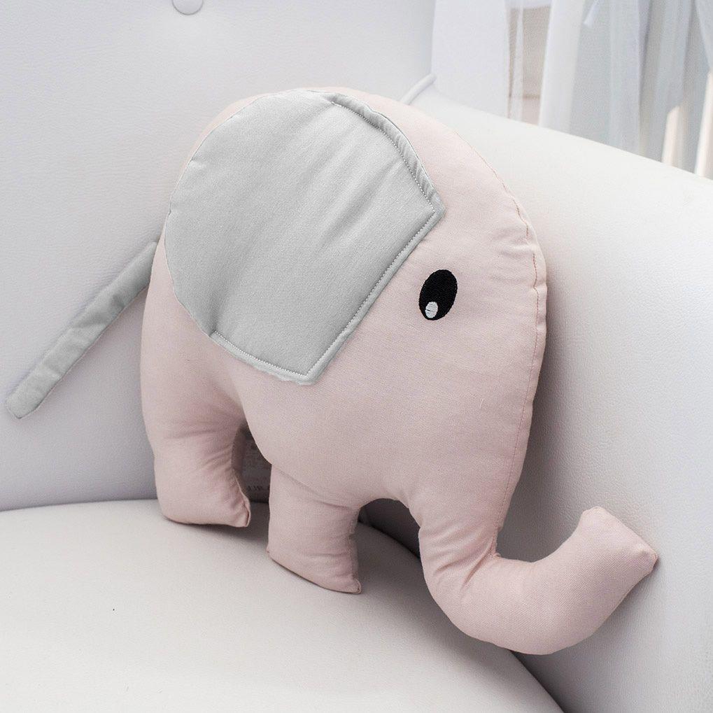 Enfeite Elefante - Rosa