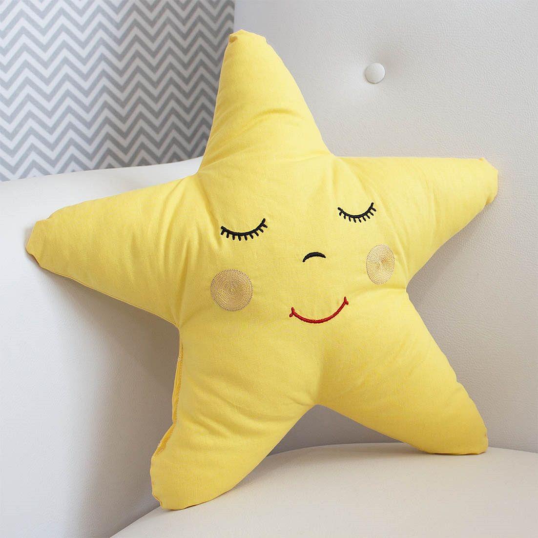 Almofada Estrela Amarela