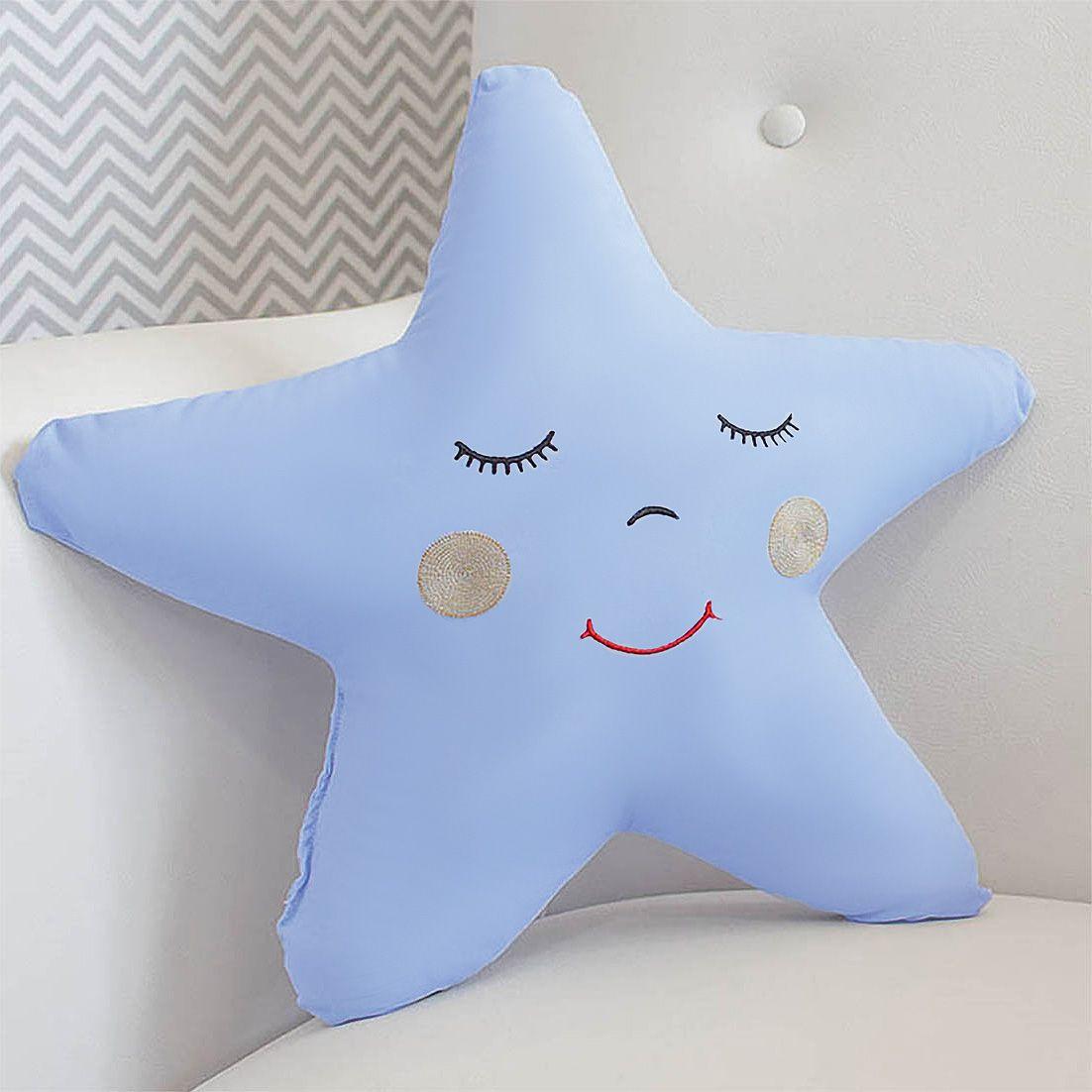 Enfeite Estrela - Azul