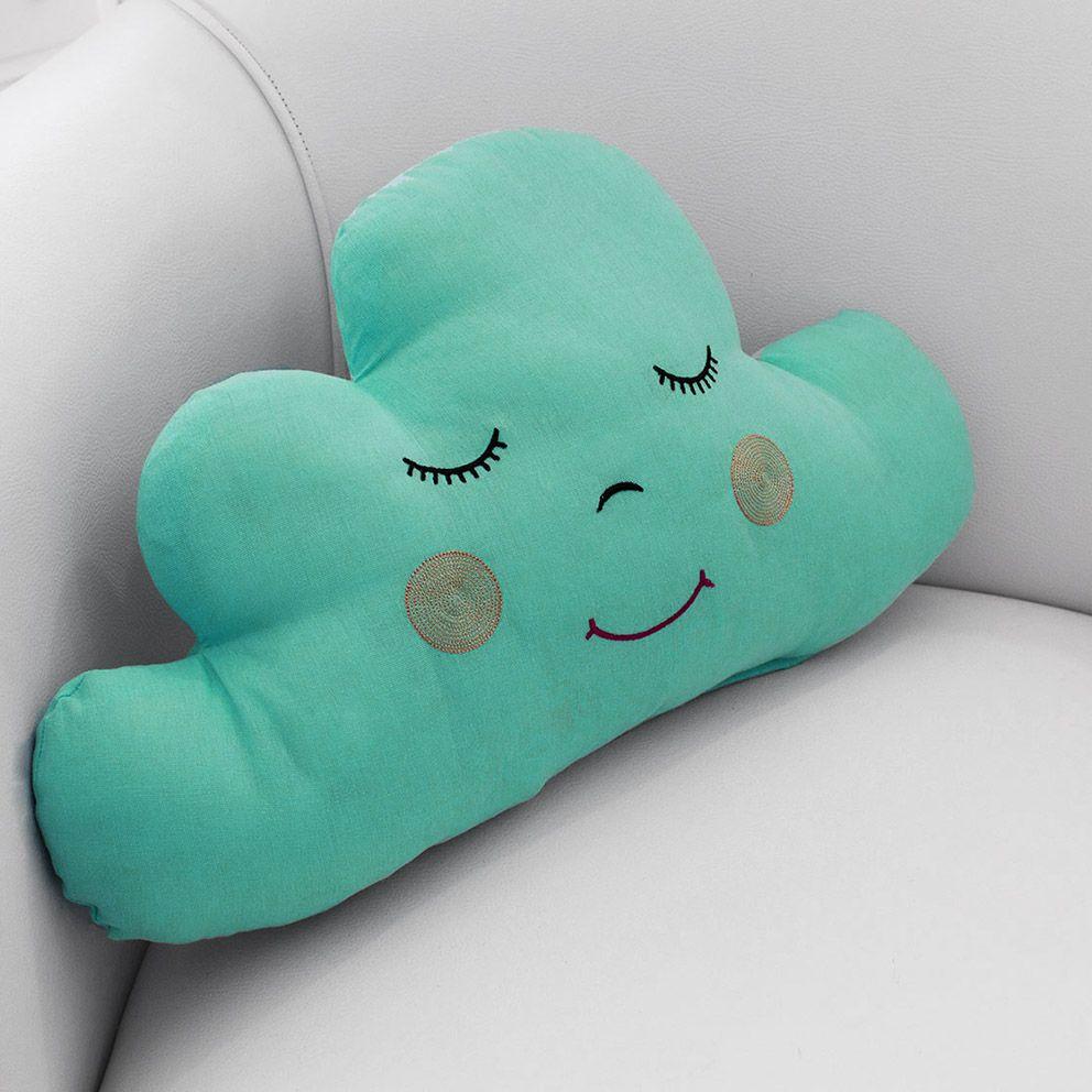 Almofada Nuvem Azul Tiffany