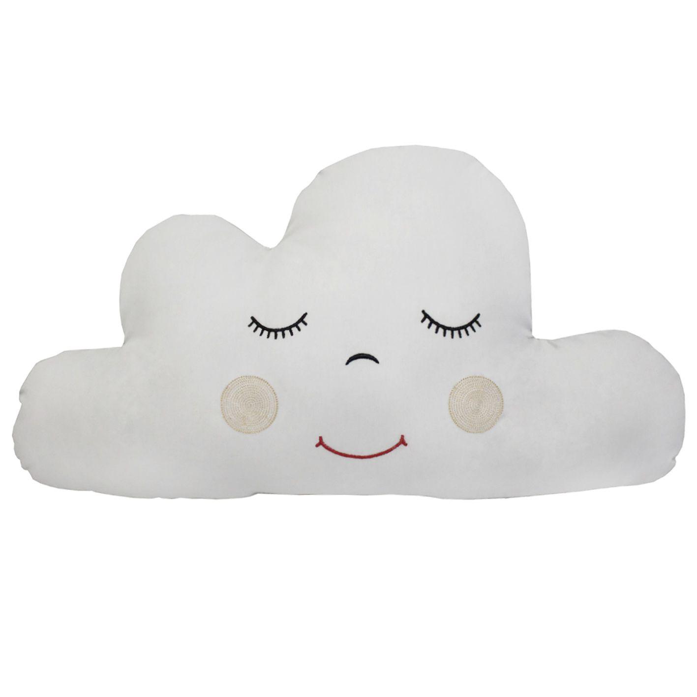 Almofada Nuvem Piquet Cinza