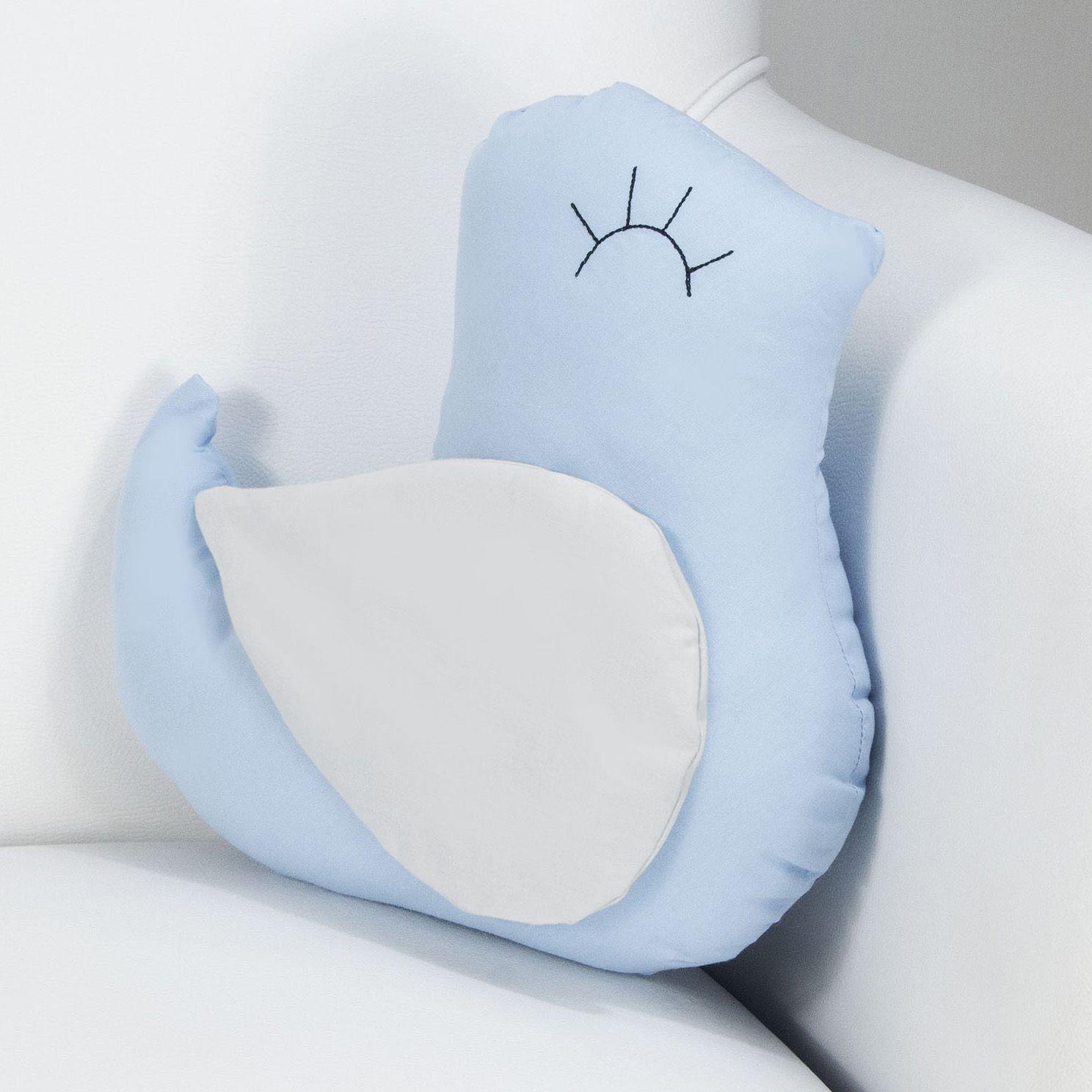 Enfeite Passarinho - Azul