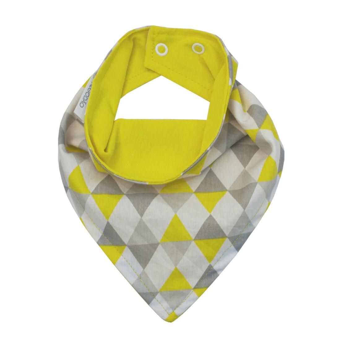 Babador de Bandana - Losango Amarelo