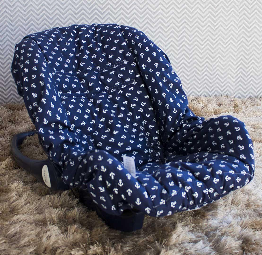 Capa de Bebê Conforto Adapt Marinheiro