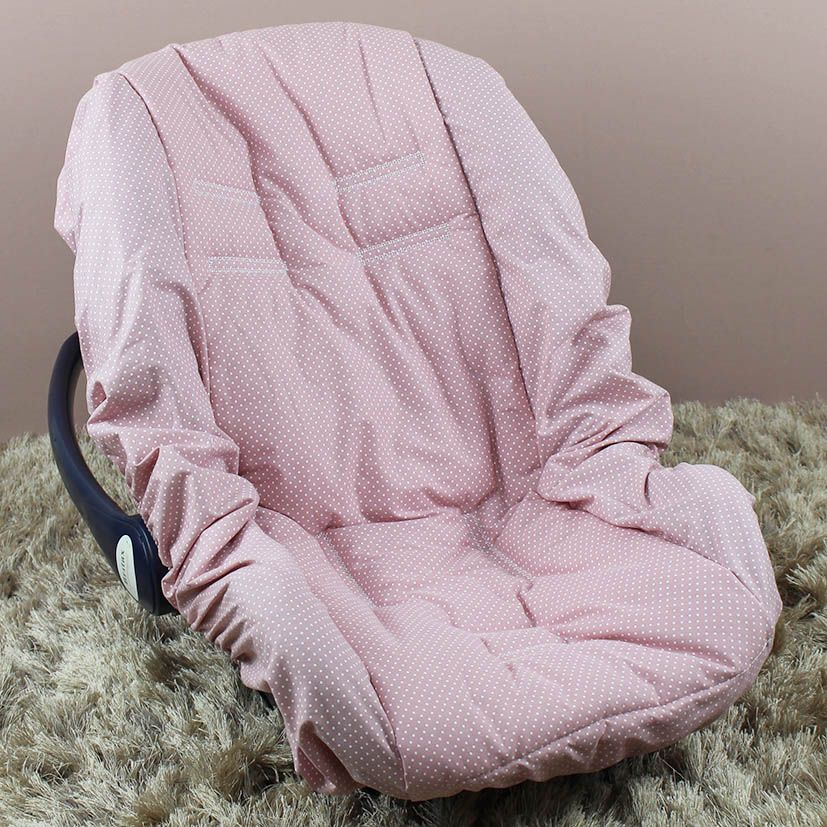 Capa de Bebê Conforto Adapt - Poá Ferrugem