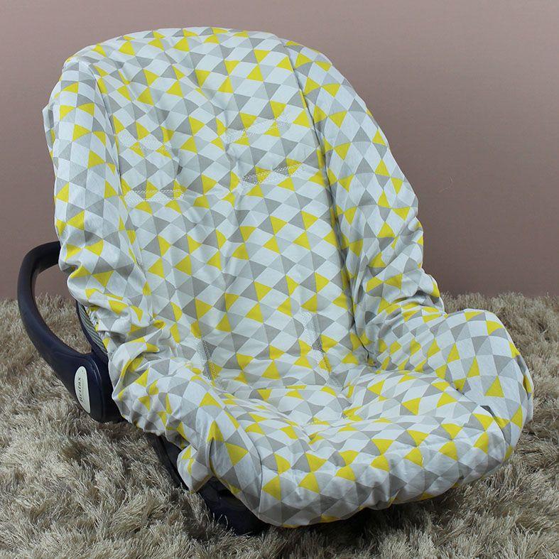 Capa de Bebê Conforto Adapt - Losango Amarelo