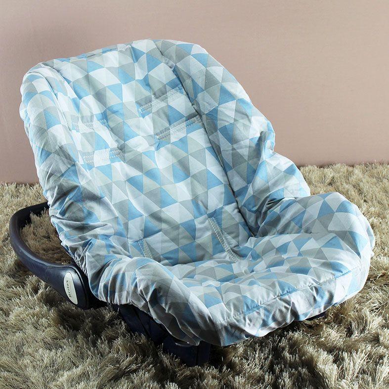 Capa de Bebê Conforto Adapt - Losango Azul
