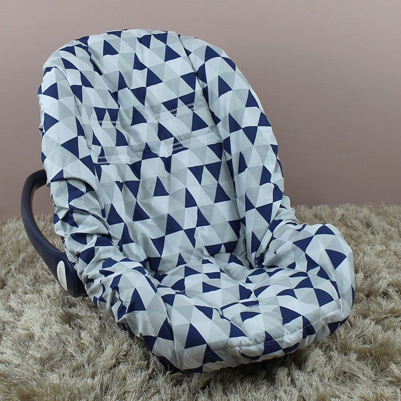 Capa de Bebê Conforto Adapt Losango Marinho
