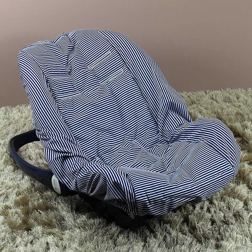 Capa de Bebê Conforto Adapt - Náutico Listrado