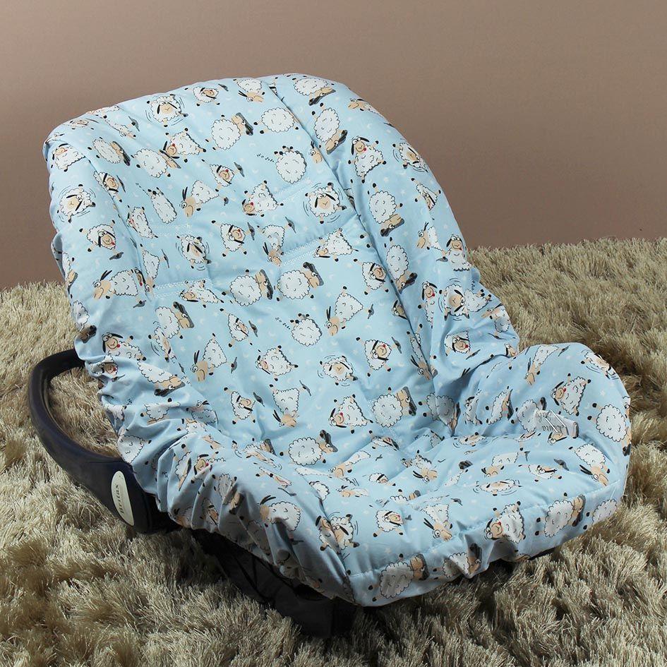 Capa de Bebê Conforto Adapt - Ovelha Azul