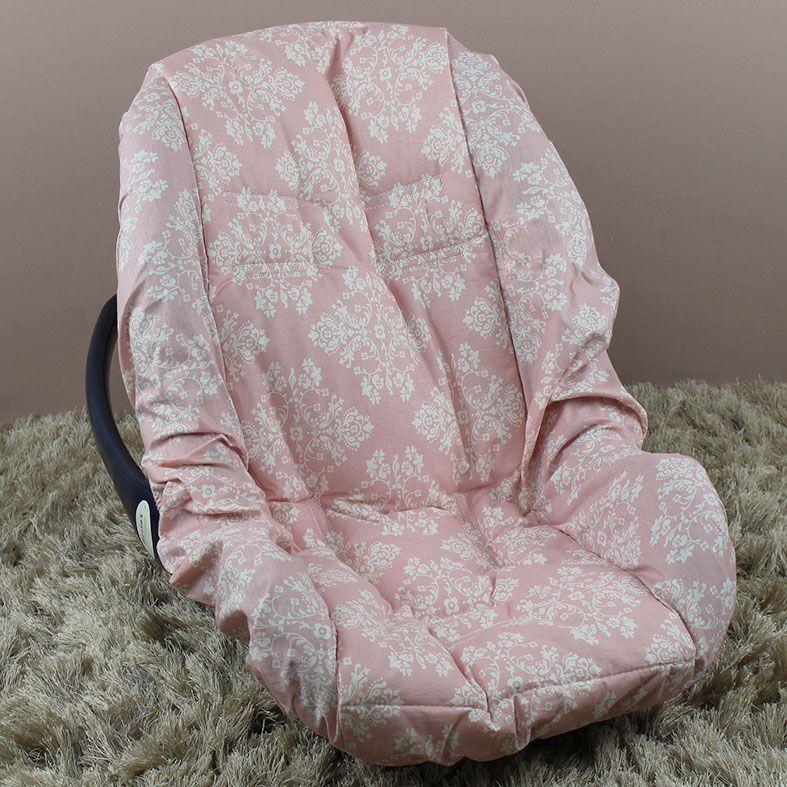Capa de Bebê Conforto Adapt Provençal Rosê