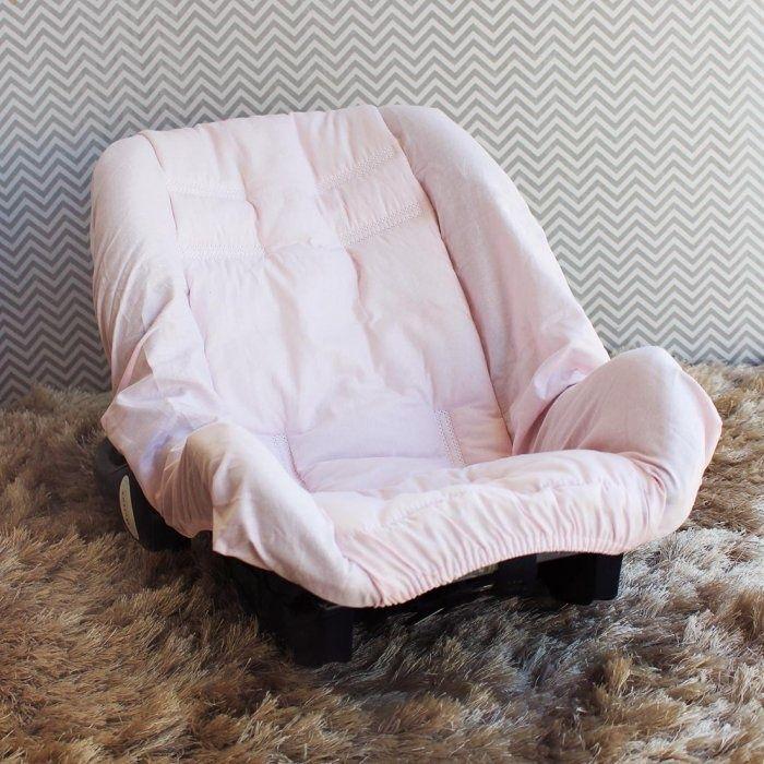 Capa de Bebê Conforto Adapt Thed Rosa