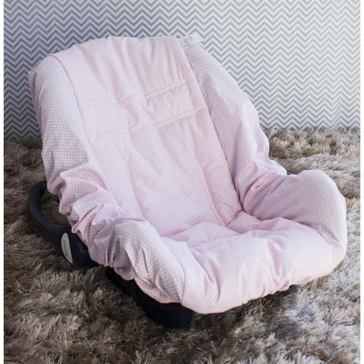 Capa de Bebê Conforto Adapt - Ursa Realeza Poá