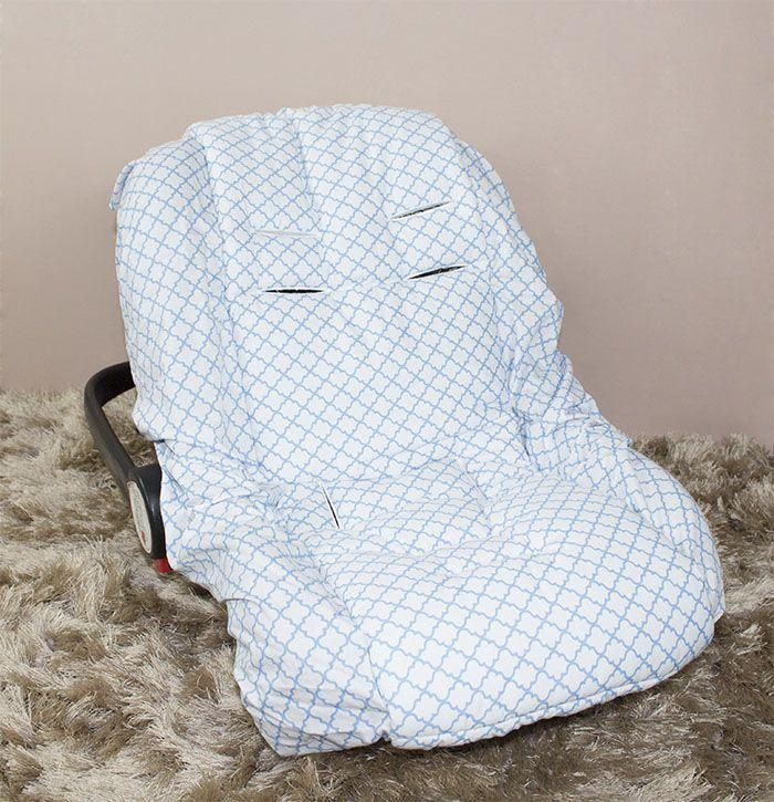 Capa de Bebê Conforto Adapt - Zôo Azul