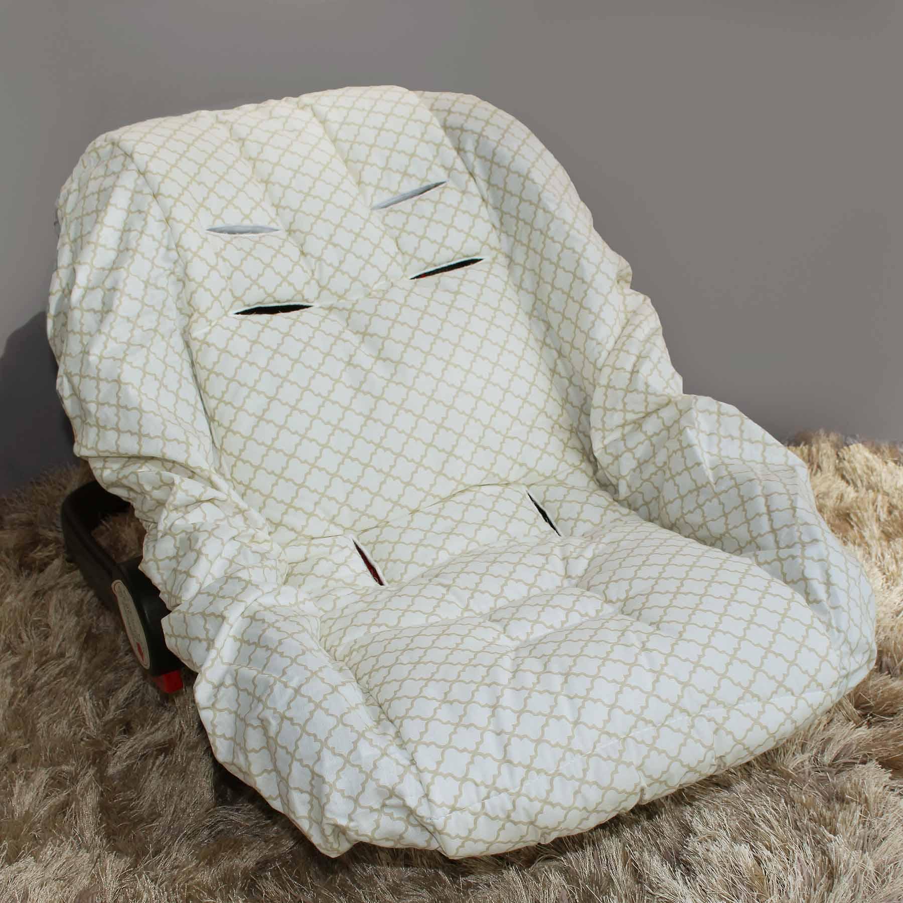 Capa de Bebê Conforto Adapt - Zôo Palha