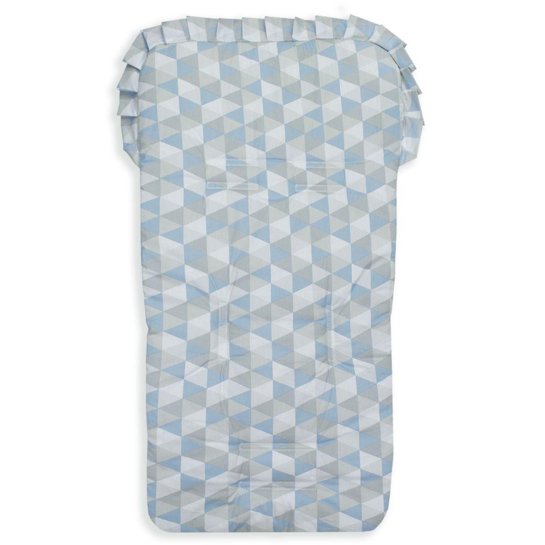 Capa para Carrinho - Losango Azul