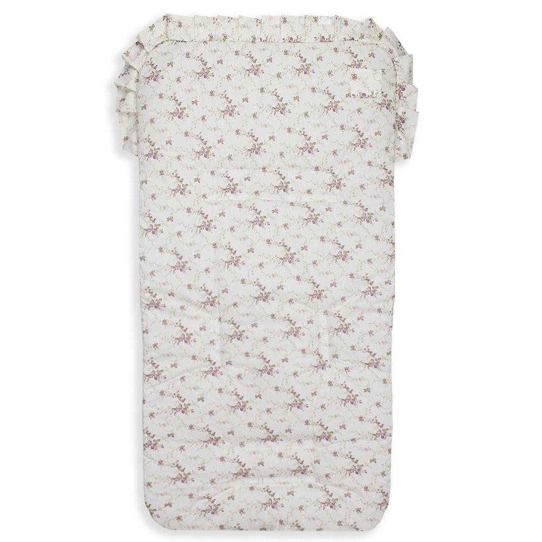 Capa para Carrinho - Floral Ferrugem