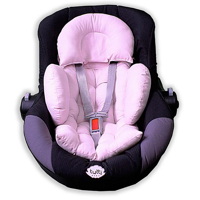 Colchonete para Bebê Conforto e Carrinho - Rosa