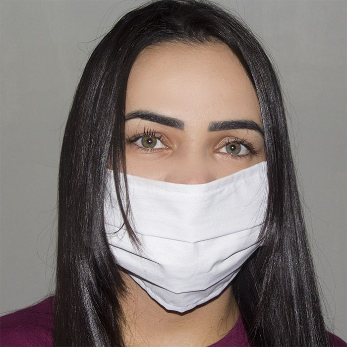 Jogo de Máscara Protetora 07 pçs - Branca