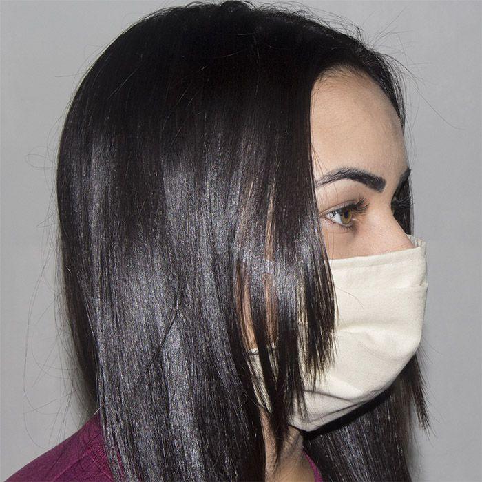 Jogo de Máscara Protetora 07 pçs - Caqui