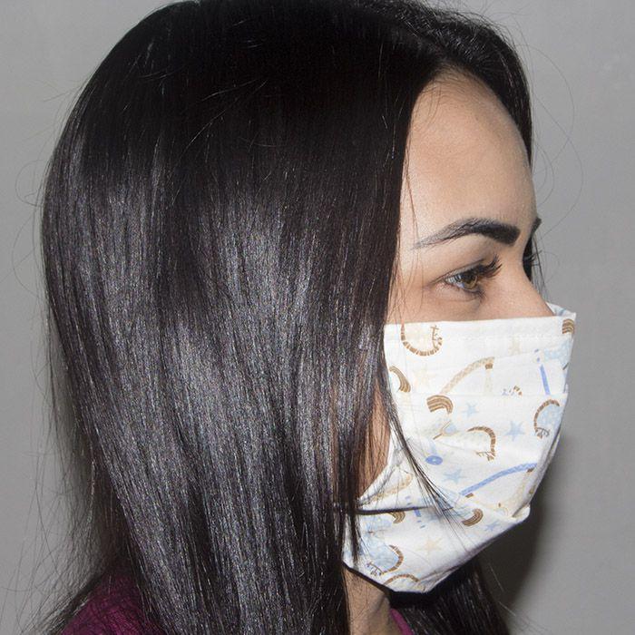 Jogo de Máscara Protetora 07 pçs - Cavalinho