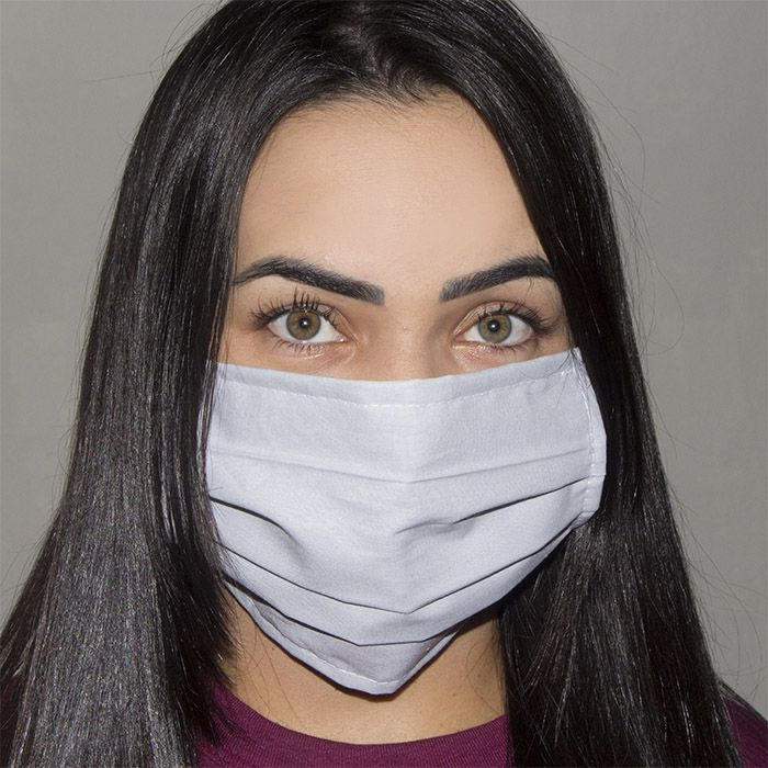 Jogo de Máscara Protetora 07 pçs - Cinza
