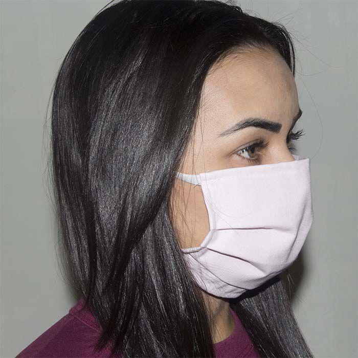 Jogo de Máscara Protetora 07 pçs - Rosa