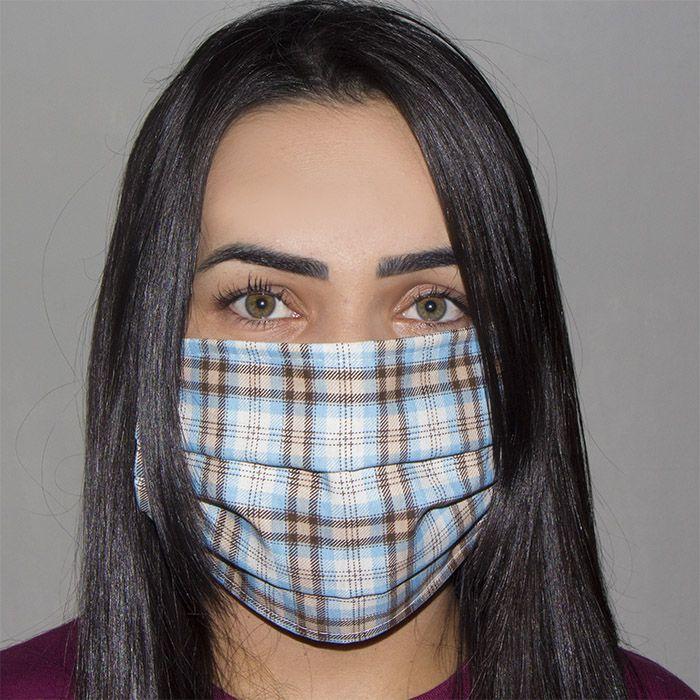 Jogo de Máscara Protetora 07 pçs - Xadrez