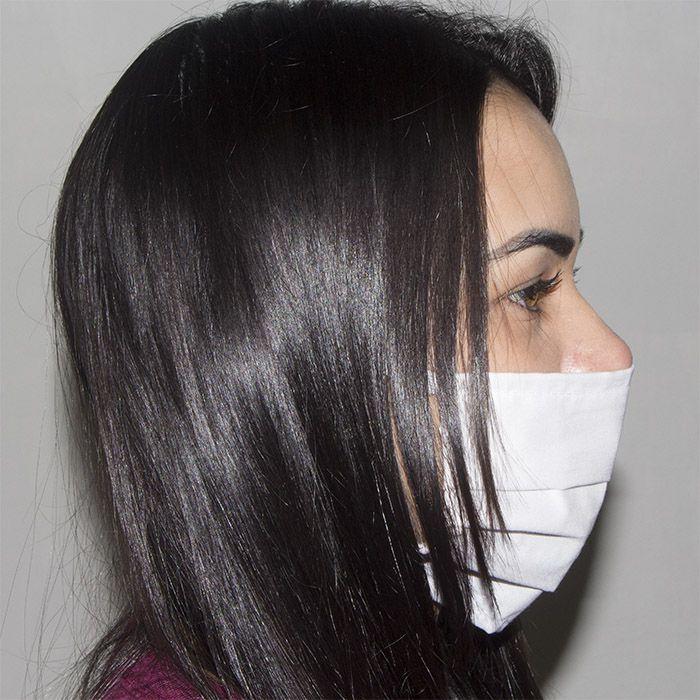 Jogo de Máscara Protetora TNT 07 pçs - Branca