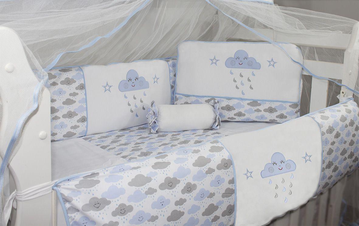 Kit Glamour 10 Pçs - Chuva de Benção Azul
