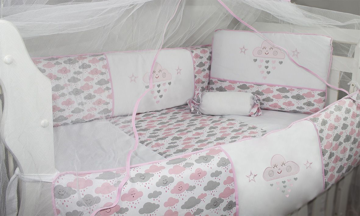Kit Glamour 10 Pçs - Chuva de Benção Rosa