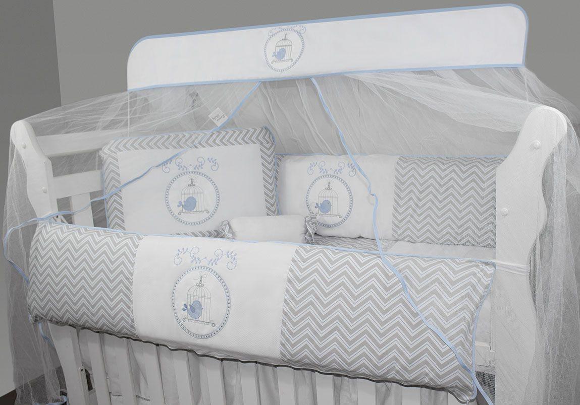 Kit Glamour 10 Pçs - Gaiola Azul