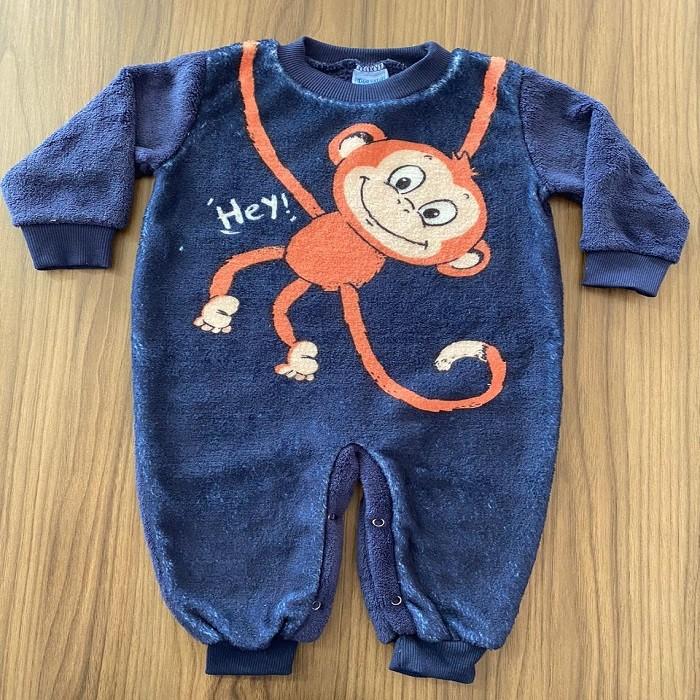 Macacão Plush Macaco