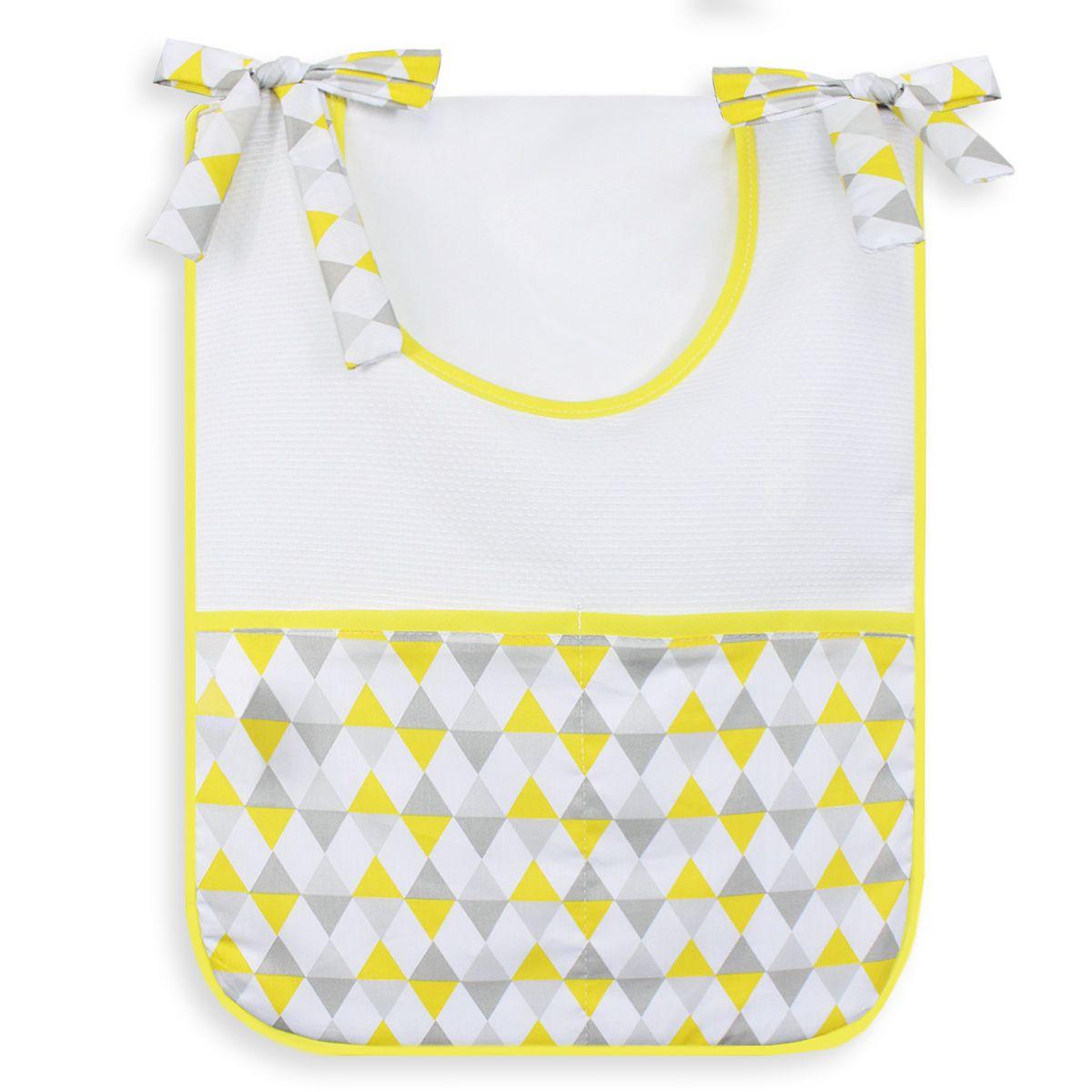 Porta Treco Individual - Losango Amarelo