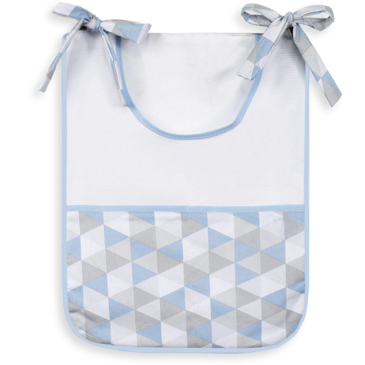 Porta Treco Individual - Losango Azul