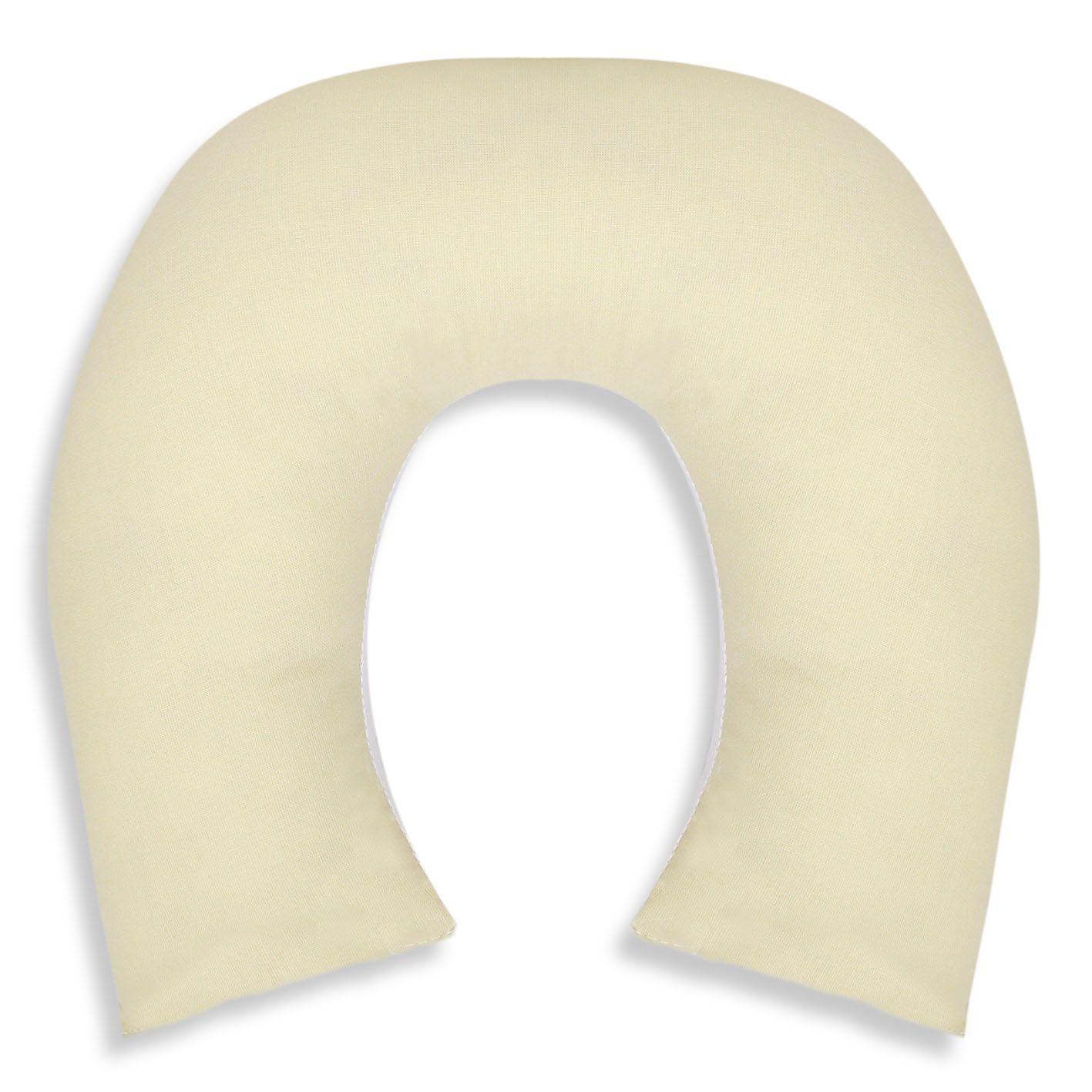 Protetor de Pescoço - Caqui c/ Branco