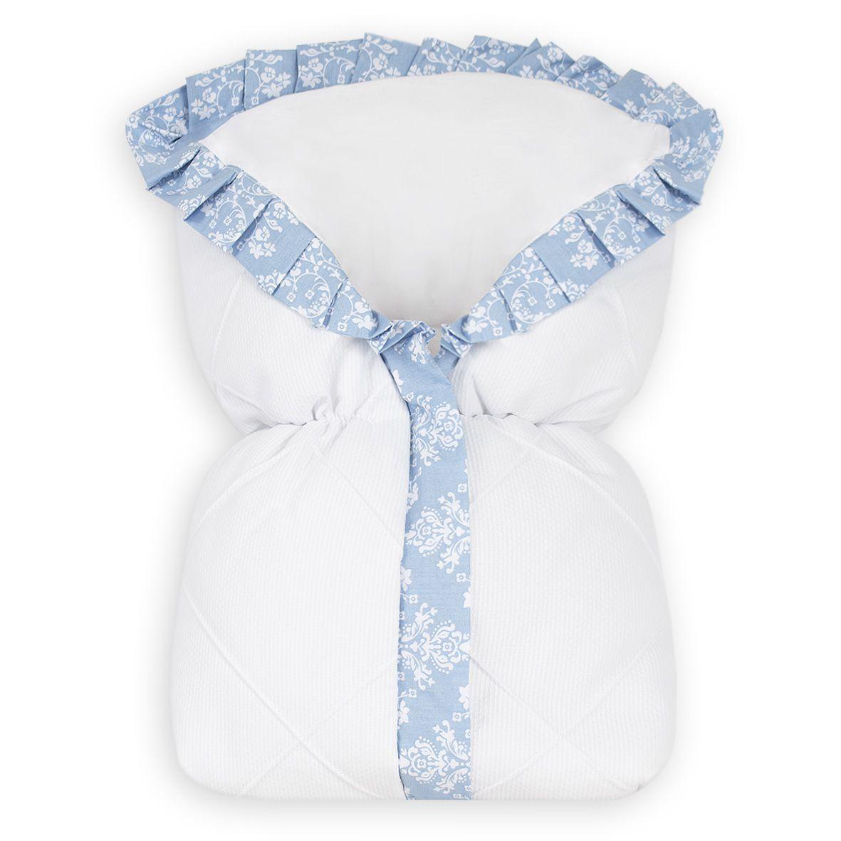 Saco de Bebê 100% Alg. - Provençal Azul